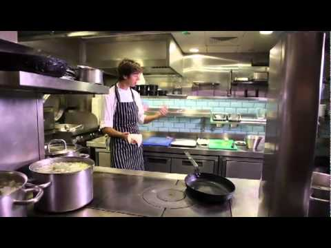 Cooking Dover sole a la Meuniere with Boundary's head chef Peter Weeden
