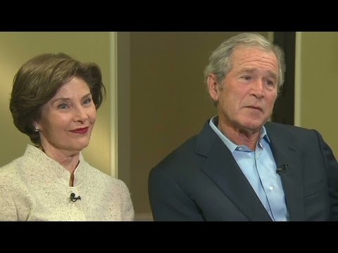 George W. Bush opens up about his Presidency  4/25/13