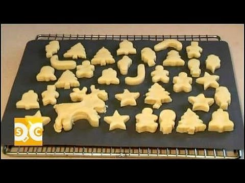 CHRISTMAS SHORTBREAD COOKIE RECIPE