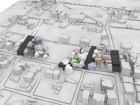 seamlessHousing - Parametric Bottom-Up Architecture Growth Simulation