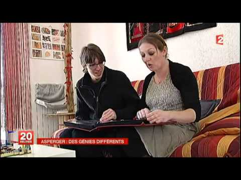 Valentin Autiste ASPEGER - Reportage 20H France 2 - 2 Avril 2012