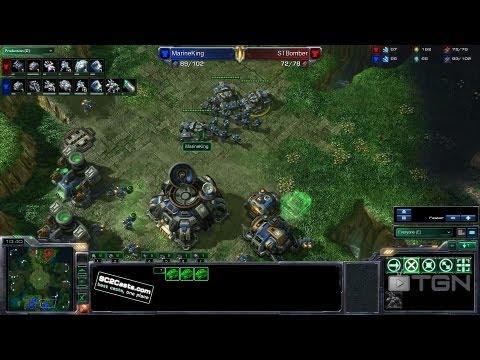 ★ StarCraft 2 - Bomber vs MarineKing (Game 3) - MLG Orlando - TGN