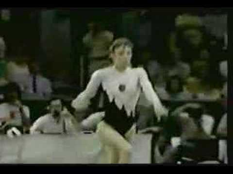 1989,90,92 EUROPEAN GYMNASTICS CHAMPS PART 2