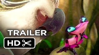 Rio 2 Official Trailer (2014) - Jamie Foxx, Jesse Eisenberg Animated Sequel HD