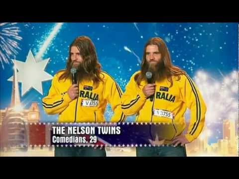 Nelson Twins - Australia's Got Talent 2012