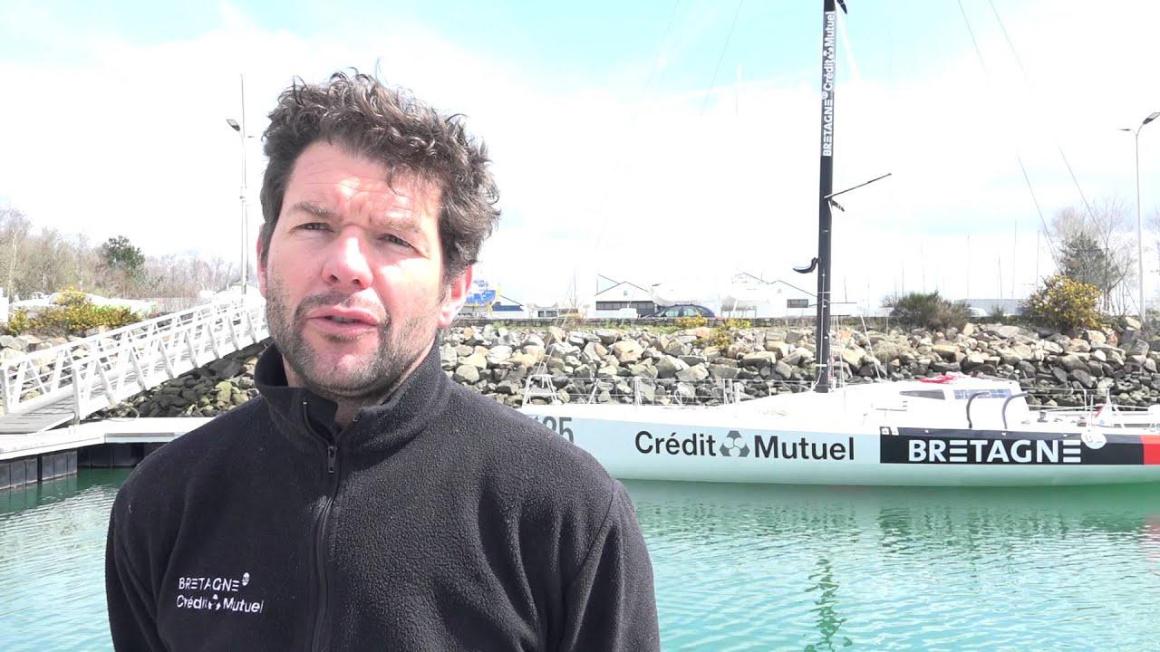Le Class40 Bretagne – Crédit Mutuel Élite à l'eau !