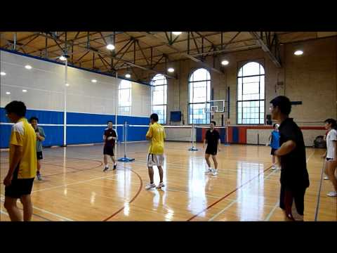 Penn Badminton - Chinese Footwork Conditioning [2 of 2]