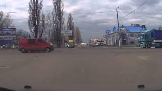 Авария в Житомире. Запись с видеорегистратора