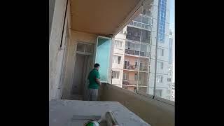 Katlamali cam balkon