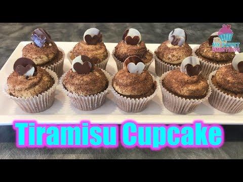 Tiramisu Cupcake - mysweetambitions