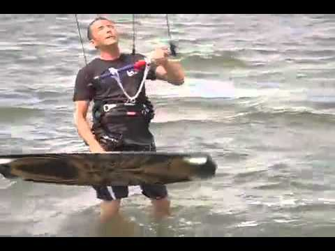 Kitesurfing Trainer Kite with HQ Hydra Power Kite