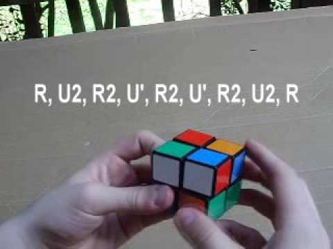How to solve the 2x2 (Fridrich Method)