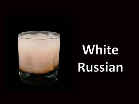 White Russian Drink Recipe