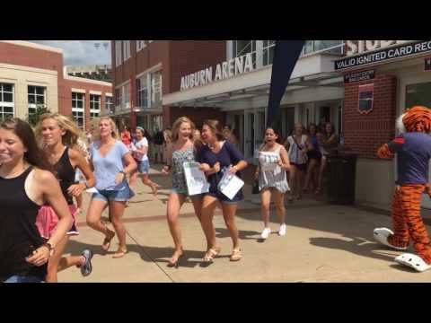 VIDEO: Auburn Bid Day 2016
