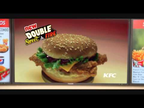 KFC Double Sweet & Fire TVC