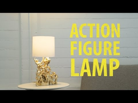 شاهد : طريقة تحويل ألعاب طفلك لقطعة فنية تزين منزلك