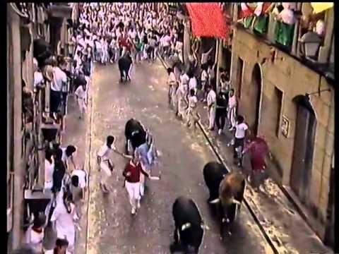 Encierro San Fermín   8 de julio de 1991 480p