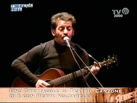 """""""Il viaggio i padri l'appartenenza"""" - Voltarelli a Retroscena TV Sat 2000"""