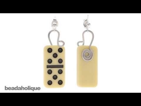 How to Make a Wire Bail for Domino and Scrabble Tile Jewelry