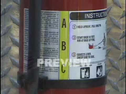 Fire Extinguisher Training & Fire Prevention