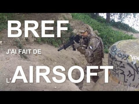 Bref j'ai fait de l'airsoft [english subtitles]