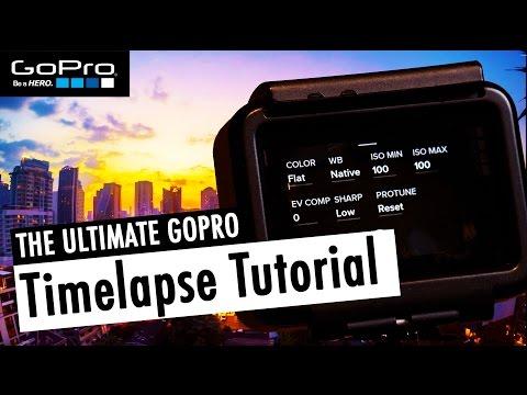 The ULTIMATE Timelapse Tutorial for GoPro HERO5 Black (incl. Lightroom & FCPX) | RehaAlev
