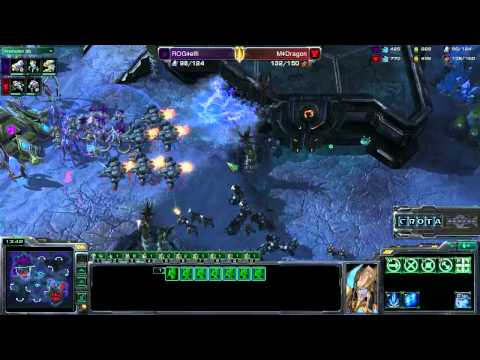 StarCraft II - Elfi (P) vs Dragon (T) - G4 - SC####