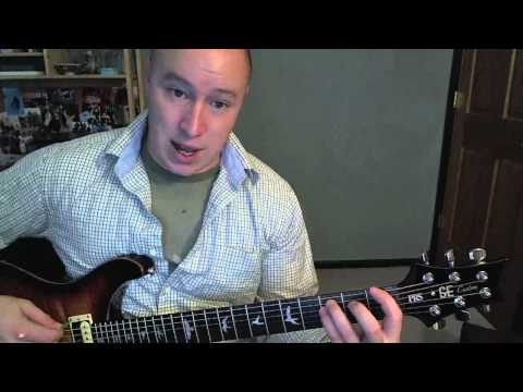 She's So Mean- Guitar Lesson- Matchbox Twenty  (Todd Downing)