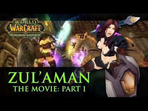 World of Warcraft: Zul'Aman: The Movie. Paladin Tank. 1 of 2