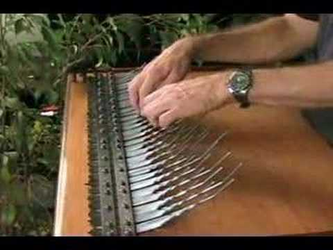 Jazz improvisation on a 5 octave Array mbira