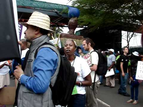 Sirens, African Singing at Climate Change March
