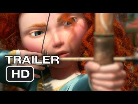 Brave Official Trailer #1 - New Pixar Movie (2012) HD