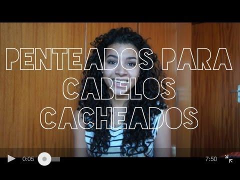#2 Penteados para cabelos cacheados | Camilla Santana