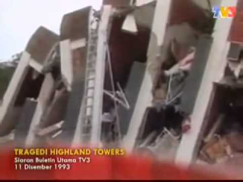 Berita Lama TV3   Tragedi Highland Towers 1993