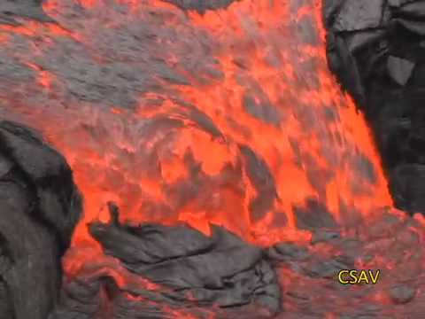CSAV Hawaii: Archival Kilauea Volcano Eruption