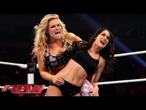 Natalya vs. Brie Bella: Raw, July 29, 2013