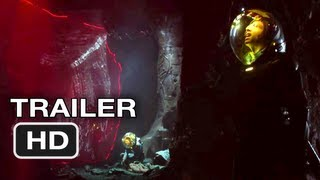 Prometheus - Official UK International Trailer 2 - Ridley Scott Alien movie (2012)