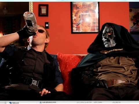 Doom &amp; Wesker Watch Resident Evil 6 Trailer 2