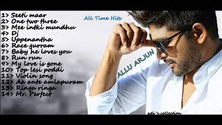 Allu arjun songs jukebox