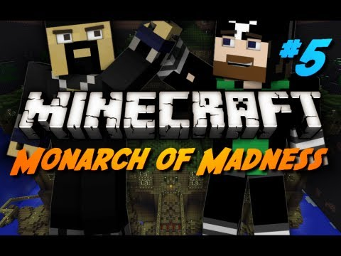 Minecraft Maps - Monarch of Madness - #5 - Cave Got Fail Trapped!