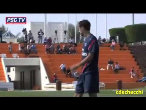P.S.G. PARIS SAINT GERMAIN FOOTBALL CLUB - PHYSICAL TRAINING 2011-2012