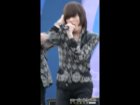 [FANCAM-FULL CLIP] 111029 Youth Cultural Festival [Incheon] - Supa Luv - NIEL focussed