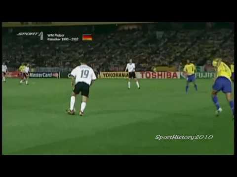 Fussball WM 2002 - Deutschland vs Brasilien (Finale)