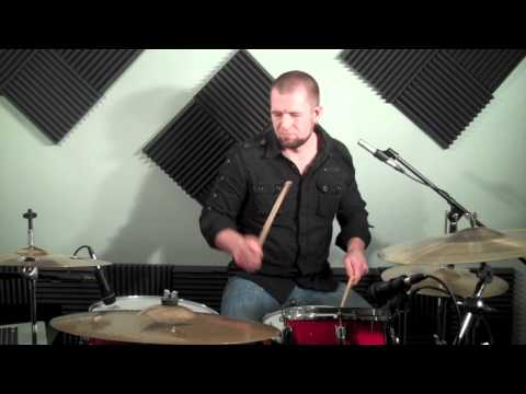 How To Drum - Second Line Drum Fills - Drumming