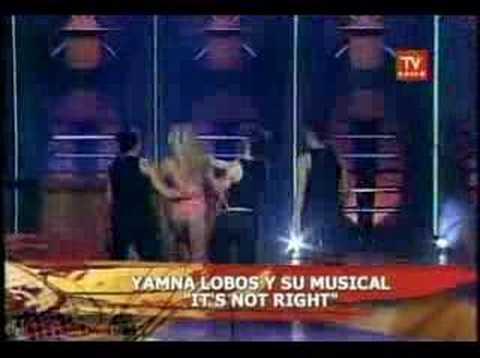 Yamna Lobos sensual baile