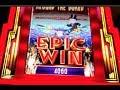 EPIC MONOPOLY | WMS - EPIC WIN! 10 Rolls w. X3 Multiplier | Slot Machine Bonus