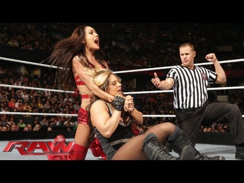 Natalya and Kaitlyn vs. The Bella Twins: Raw, May 27, 2013
