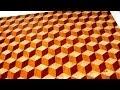Making a 3D end grain cutting board №2 (Изготовление 3D торцевой разделочной доски №2)
