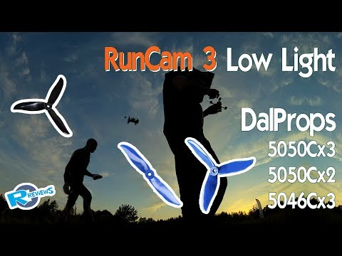 RunCam Cube in low light and high speeds, with Dal5050c 2 and 3 blades - UCv2D074JIyQEXdjK17SmREQ