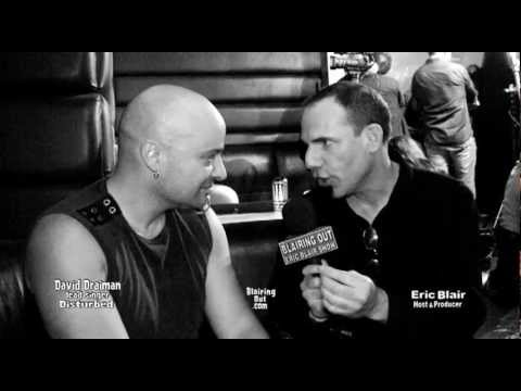 Disturbed's David Draiman talks w Eric Blair @ Dime Bash 2011